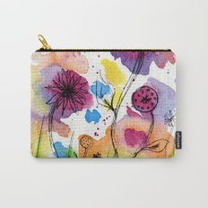 Flower Doodle 4 Carry-All Pouch