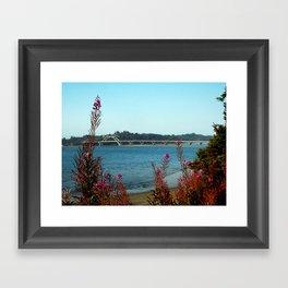 Hello Waldport Framed Art Print