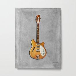 The 360/12 Electric Guitar Metal Print