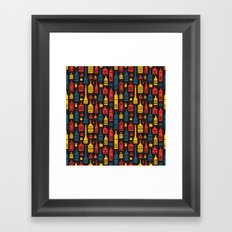 Drinks on the House Framed Art Print