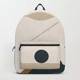Geometric Modern Art 33 Backpack