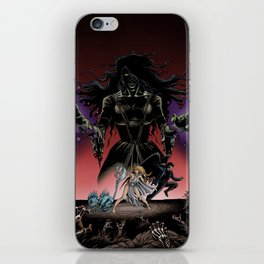 Monsters Among Us: A War of Witches Cover iPhone Skin