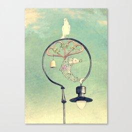 Glasgow Streetlamp Canvas Print