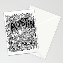 Geometric Mutations: Austin, TX Stationery Cards