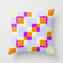 Rusalka - Colorful Decorative Abstract Art Pattern Throw Pillow