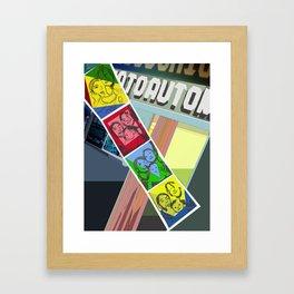 The AutoFotoMaton Framed Art Print