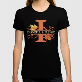 Thanksgiving I Monogram T-shirt