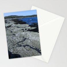 Barnacle Rocks at Acadia Stationery Cards