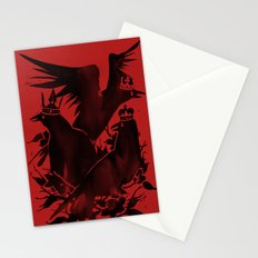 Crowned Crows Stationery Cards