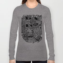 Geometric Mutations: Kansas City, MO Long Sleeve T-shirt
