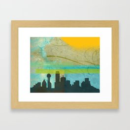 Locals Only: Dallas in Dreams Framed Art Print