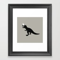 cat cat Framed Art Print