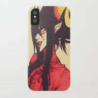 homestuck iPhone & iPod Cases featuring Witch of Time by Lokyism