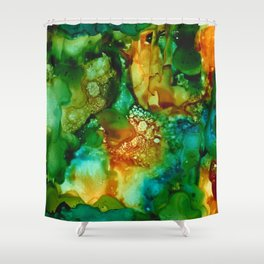 Emerald Impressions Shower Curtain