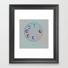 Lunar Activity Framed Art Print