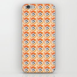 Oranje iPhone Skin