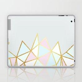 Gold & Pastel Geometric Pattern Laptop & iPad Skin