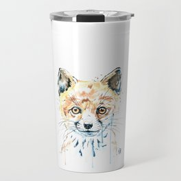 Peekaboo Fox Travel Mug