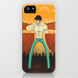 Kenshiro doesn't look at explosions iPhone Case