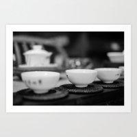 Chinese Tea Art Print