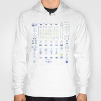 springsteen Hoodies featuring DJ Mixer by Sitchko Igor
