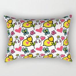 Good Vibes! Rectangular Pillow