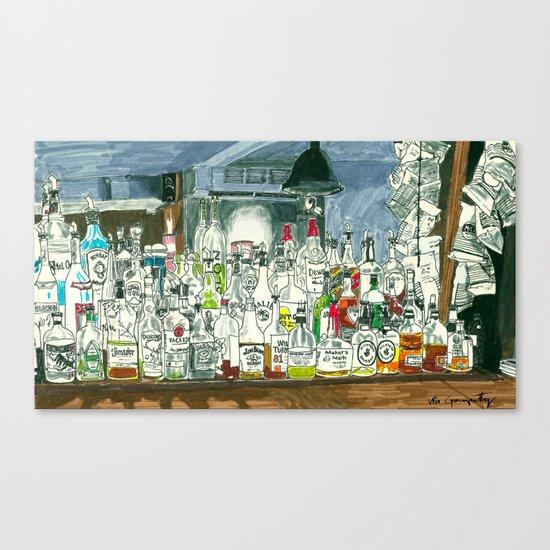 The Locals Canvas Print