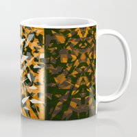 predator Mugs featuring Predator by Ornaart