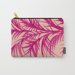 Pink Palms Carry-All Pouch