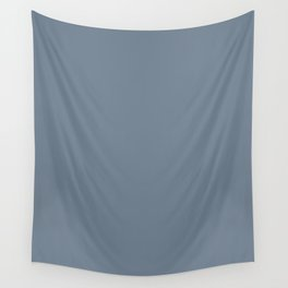 Slate gray - solid color Wall Tapestry