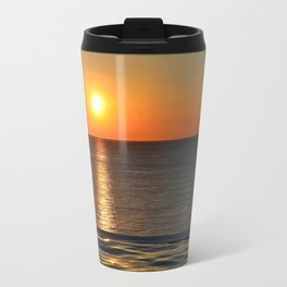 Super Sunset at the Beach Travel Mug