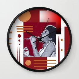 Portrait2 Wall Clock