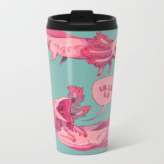 axololtls Metal Travel Mug