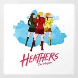 Heathers Minimalist Art Print