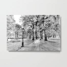 Green Park London Art Metal Print