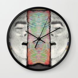 Open Mind O Wall Clock