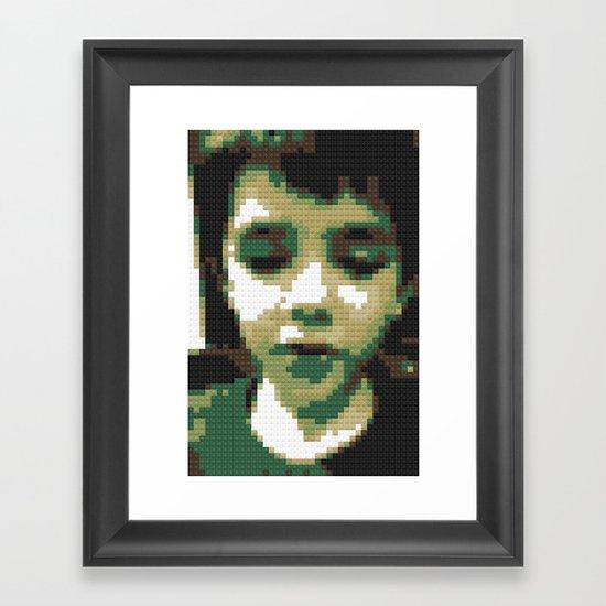 lego Zaine Framed Art Print