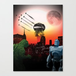 Future's Bright Canvas Print