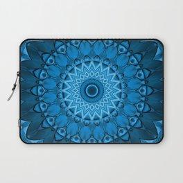 Kaleidoscope Blue lagoon Laptop Sleeve