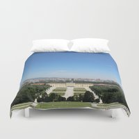 vienna Duvet Covers featuring Vienna - Cityscape by Andrew Schmidt