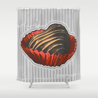 valentine Shower Curtains featuring Valentine by Katy V. Meehan