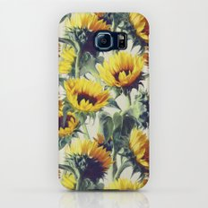 Sunflowers Forever Slim Case Galaxy S6