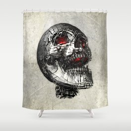 No Laughing Matter (background option) Shower Curtain