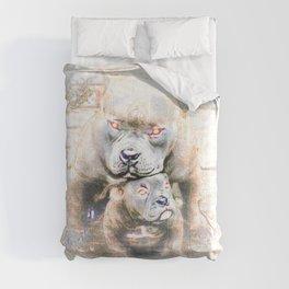 Pit Bull Models: Blue Defender 01-02 Comforters