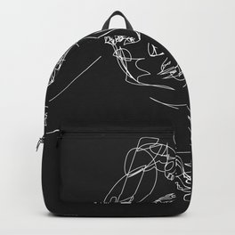 Connection by Sher Rhie Backpack