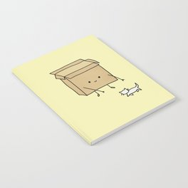 Boxes love cats Notebook