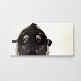 Mustard Gas Mechanic Metal Print