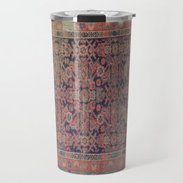 Traditional vibrant rug Travel Mug