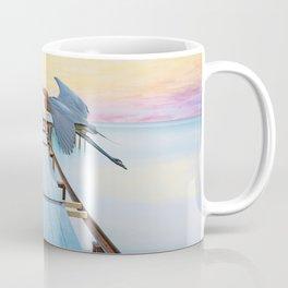 Reddish Egret Bird Coffee Mug