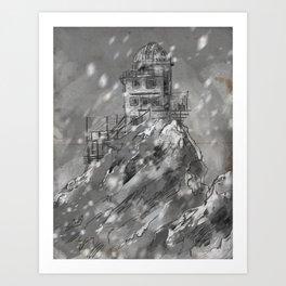 Sphinx Observatory Art Print